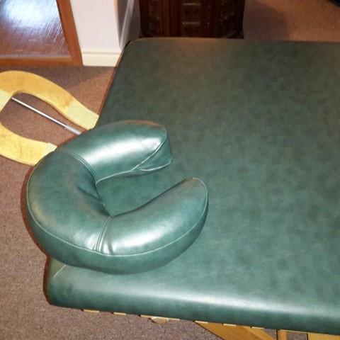 Table de massage fixe en chêne